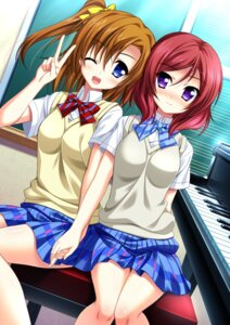 Rating: Safe Score: 26 Tags: endori kousaka_honoka love_live! nishikino_maki seifuku User: 椎名深夏