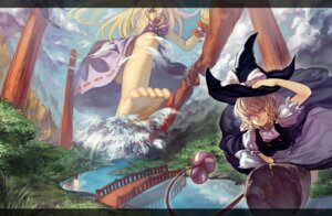 Rating: Questionable Score: 10 Tags: bathing hakurei_reimu ibuki_suika kirisame_marisa naked touhou urami User: Mr_GT