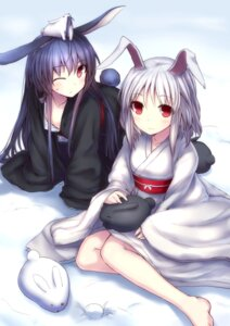 Rating: Questionable Score: 43 Tags: animal_ears bunny_ears cleavage hirasato loli yukata User: fairyren
