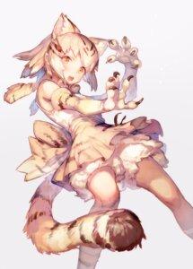 Rating: Safe Score: 46 Tags: animal_ears bloomers katahira kemono_friends sand_cat tail User: nphuongsun93