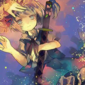Rating: Safe Score: 12 Tags: cha_goma konpaku_youmu sword touhou User: charunetra