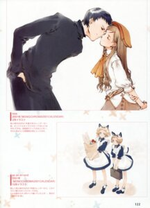 Rating: Safe Score: 3 Tags: animal_ears littlewitch nekomimi oyari_ashito tail User: petopeto