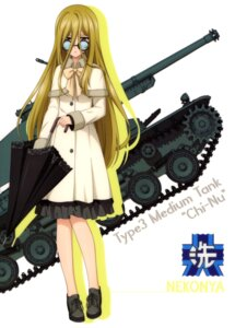 Rating: Safe Score: 7 Tags: dress girls_und_panzer megane nekonyaa tagme umbrella User: drop