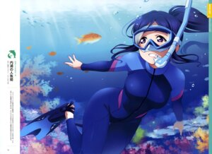 Rating: Safe Score: 17 Tags: bodysuit inou_shin love_live!_sunshine!! matsuura_kanan wet User: drop