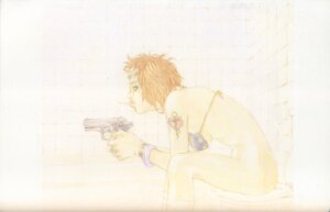 Rating: Questionable Score: 2 Tags: bikini bottomless gun swimsuits tajima_shouu User: Umbigo
