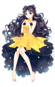 Rating: Safe Score: 22 Tags: anthropomorphization dress feet luna_(sailor_moon) rei_(usabiba) sailor_moon User: charunetra