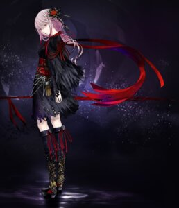 Rating: Safe Score: 81 Tags: egoist japanese_clothes koutetsujou_no_kabaneri redjuice torn_clothes yuzuriha_inori User: rx178aeug