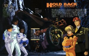 Rating: Safe Score: 3 Tags: bodysuit gundam mecha murase_shuko victory_gundam User: Radioactive