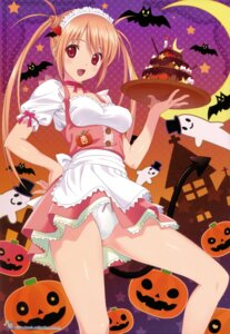 Rating: Questionable Score: 57 Tags: halloween koutaro maid pantsu User: donicila