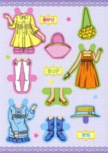 Rating: Safe Score: 3 Tags: character_design dress ibe_yukiko jewelpet jewelpet_twinkle miria_marigold_mackenzie sakura_akari sara_(jewelpet_twinkle) User: midzki