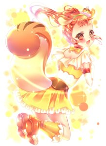 Rating: Safe Score: 10 Tags: animal_ears arisugawa_himari kirakira_precure_a_la_mode pretty_cure tail touki_matsuri User: charunetra