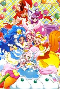 Rating: Safe Score: 9 Tags: animal_ears arisugawa_himari bunny_ears dress ino_marie kenjou_akira kirahoshi_ciel kirakira_precure_a_la_mode kotozume_yukari pretty_cure tail tategami_aoi usami_ichika User: drop