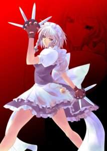 Rating: Safe Score: 10 Tags: izayoi_sakuya maid okota touhou User: charunetra