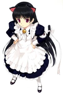Rating: Safe Score: 34 Tags: amatsuka_urara animal_ears baby_princess maid mibu_natsuki nekomimi tail User: fireattack
