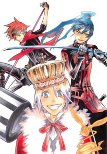 Rating: Safe Score: 6 Tags: allen_walker d.gray-man hoshino_katsura kanda_yu lavi male timcanpy User: Radioactive