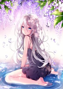 Rating: Safe Score: 165 Tags: ass cut_(bu-kunn) dress feet ia_(vocaloid) vocaloid wet User: Mr_GT