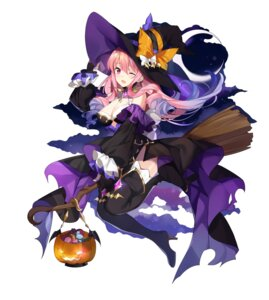 Rating: Questionable Score: 31 Tags: cleavage halloween heels kikistark no_bra thighhighs witch User: sym455