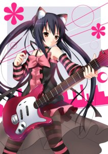 Rating: Safe Score: 57 Tags: animal_ears guitar koi k-on! nakano_azusa nekomimi User: yumichi-sama