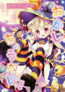 Rating: Questionable Score: 31 Tags: cameltoe cleavage halloween heels mikeou neko pantsu stockings thighhighs witch User: Hatsukoi