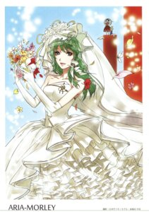 Rating: Safe Score: 9 Tags: dress egawa_satsuki kochiya_sanae scanning_artifacts touhou wedding_dress User: Radioactive