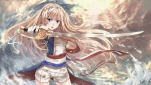 Rating: Safe Score: 43 Tags: rain_(artist) richelieu_(zhanjianshaonv) sword uniform zhanjianshaonv User: KazukiNanako