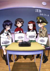 Rating: Safe Score: 15 Tags: caesar erwin girls_und_panzer megane oryou_(girls_und_panzer) saemonza seifuku uniform User: drop