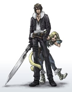 Rating: Safe Score: 10 Tags: aka_gan_k dissidia_final_fantasy final_fantasy final_fantasy_ix final_fantasy_viii male squall_leonhart tail zidane_tribal User: Amperrior
