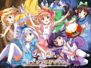 Rating: Safe Score: 57 Tags: alice_in_wonderland gochuumon_wa_usagi_desu_ka? hoto_cocoa kafuu_chino kirima_sharo okuda_yousuke tedeza_rize thighhighs tippy_(gochuumon_wa_usagi_desu_ka?) ujimatsu_chiya waitress User: Anonymous