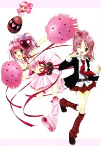 Rating: Safe Score: 10 Tags: amulet_heart cheerleader hinamori_amu peach-pit ran screening shugo_chara User: yumichi-sama