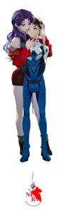 Rating: Questionable Score: 18 Tags: bodysuit bondage han-0v0 ikari_shinji katsuragi_misato neon_genesis_evangelion uniform User: Dreista