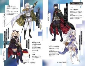 Rating: Safe Score: 17 Tags: armor dress heels lolita_fashion penguin pointy_ears shibano_kaito sword thighhighs uniform User: kiyoe