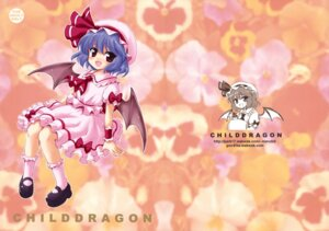 Rating: Safe Score: 4 Tags: 54burger marugoshi remilia_scarlet touhou wings User: fireattack