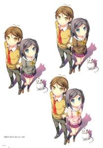 Rating: Safe Score: 27 Tags: hentai_ouji_to_warawanai_neko kantoku neko seifuku tsutsukakushi_tsukiko yokodera_youto User: Twinsenzw