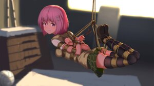 Rating: Questionable Score: 80 Tags: bondage momo_velia_deviluke nopan seifuku tail thighhighs to_love_ru tokinohimitsu User: Mr_GT