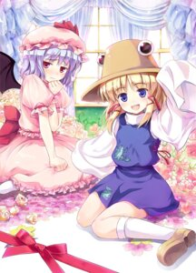 Rating: Safe Score: 20 Tags: hinooka_shuuji moriya_suwako remilia_scarlet touhou User: fairyren