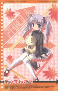 Rating: Safe Score: 13 Tags: bekkankou dress neko pointy_ears primula really_really shuffle thighhighs User: Radioactive