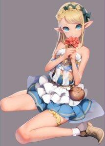 Rating: Safe Score: 60 Tags: ataruman dress garter pointy_ears see_through User: nphuongsun93