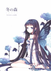 Rating: Safe Score: 16 Tags: fairy screening tearfish wings winter_forest User: ming_tt