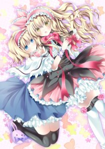 Rating: Safe Score: 24 Tags: alice_margatroid kirisame_marisa nogi_takayoshi thighhighs touhou User: ddns001