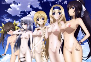 Rating: Explicit Score: 110 Tags: cecilia_alcott charlotte_dunois eyepatch huang_lingyin infinite_stratos kuniyuki_yurie laura_bodewig naked nipples photoshop pussy shinonono_houki uncensored User: torikazeSTR