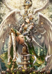 Rating: Safe Score: 68 Tags: armor komecchi thighhighs wings User: blooregardo