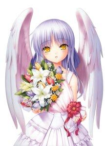 Rating: Safe Score: 31 Tags: angel angel_beats! dress key na-ga tenshi wings User: marechal