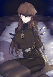Rating: Safe Score: 32 Tags: dress genderswap kaiba_seto maruchi pantyhose yugioh User: charunetra