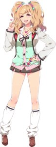 Rating: Safe Score: 31 Tags: chuuko_demo_koi_ga_shitai! cleavage redrop seifuku suwama_eve sweater User: saemonnokami