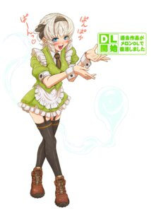 Rating: Safe Score: 5 Tags: imizu konpaku_youmu thighhighs touhou User: Mr_GT