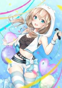 Rating: Safe Score: 44 Tags: cleavage mashiro_kuma mashiro_kuma_(channel) mizuka_nayuki thighhighs User: hiroimo2