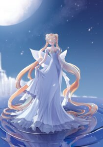 Rating: Safe Score: 26 Tags: ahma cleavage dress princess_serenity sailor_moon skirt_lift wet wings User: charunetra