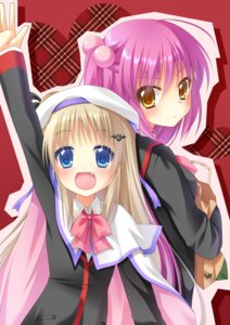 Rating: Safe Score: 23 Tags: futaki_kanata little_busters! nakada_rumi noumi_kudryavka seifuku User: 椎名深夏