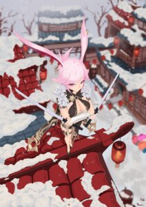 Rating: Explicit Score: 27 Tags: animal_ears asian_clothes benghuai_xueyuan breast_hold bunny_ears cleavage honkai_impact sword torofu yae_sakura_(benghuai_xueyuan) User: Dreista