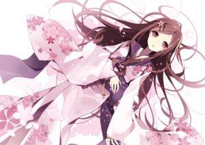 Rating: Safe Score: 65 Tags: hijiri_(resetter) kimono User: Nekotsúh